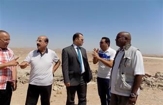 """""""الرقابة الإدارية"""" بجنوب سيناء تتفقد مخرات السيول وتوصي بإزالة 51 منزلًا"""