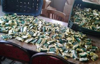 """""""تموين الإسكندرية"""" تضبط 3280 قطعة حلوى فاسدة"""