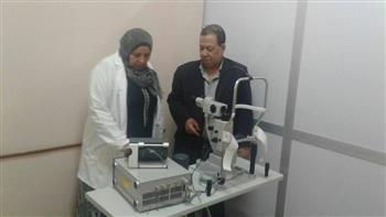 دعم-مستشفيات-الرمد-في-المنيا-بتجهيزات-طبية-حديثة