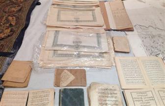 ضبط مالكي معرض أنتيكات بحوزتهم 2054 قطعة ووثيقة أثرية بالأزبكية