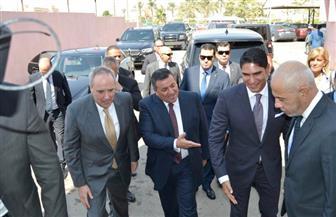 السفير الأمريكي عن زيارته لمدينة الإنتاج الإعلامي: مهمة لأي مسئول غربي | صور