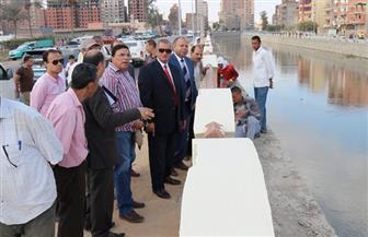 محافظ كفر الشيخ يطلق إنشاء المرحلة الثالثة من كورنيش بحيرة البرلس بتكلفة 20 مليون جنيه