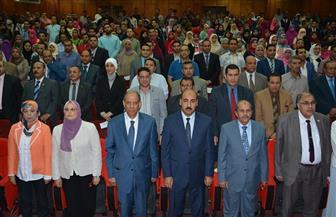 تدشين رابطة خريجي جامعة الفيوم |صور