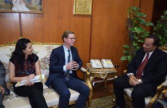 رئيس جامعة المنوفية: مجلس الوزراء يوافق على إنشاء كلية طب أسنان | صور