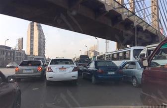 النشرة المرورية للعاصمة.. كثافات مرورية محدودة بشوارع القاهرة   صور