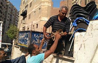 رفع 389 حالة إشغال وإزالة 20 حاجزا خرسانيا في مراكز الغربية