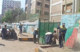 حي الهرم يُواصل رفع كفاءة الشوارع ومواجهة الإشغالات | صور