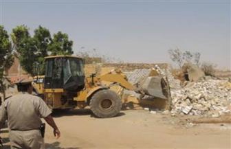 إزالة 34 حالة تعدٍ على أراض زراعية بمركزى طهطا وسوهاج