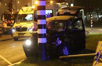 إصابة أجويرو مهاجم مانشستر سيتي في حادث سير بهولندا