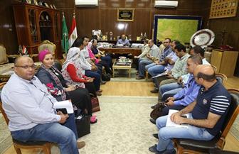 محافظ المنوفية يستقبل وفد وزارة الصحة | صور