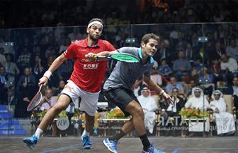 مصر تواجه أسكتلندا في ربع نهائي بطولة العالم للأسكواش لفرق الرجال