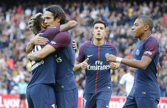 نيمار يعانق كافاني ويقود باريس سان جيرمان لاكتساح بوردو في الدوري الفرنسي