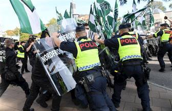 الشرطة السويدية تعتقل 30 شخصًا إثر الاشتباك مع نازيين جدد