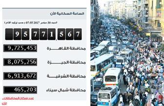 سكان مصر 104.2 مليون.. دولة تزرع وزيادة تلتهم معدلات النمو   صور