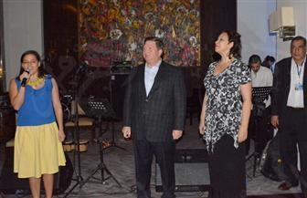 سفير بنما يحيى حفلاً لفرق موسيقى الجاز لبلده على نيل القاهرة  صور