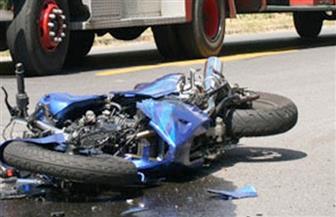 سيارة مجهولة تصدم دراجة بخارية وتقتل قائدها بالفيوم