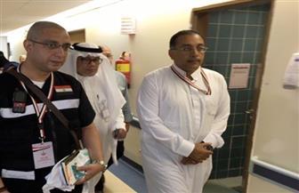 رئيس بعثة الحج الطبية يتفقد العيادات المركزية بالمدينة المنورة