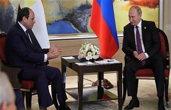 بوتين: نريد استئناف الرحلات الجوية مع مصر بالكامل.. وسأزور القاهرة قريبًا