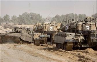 توغل آليات الاحتلال الإسرائيلي شرقي مدينة غزة