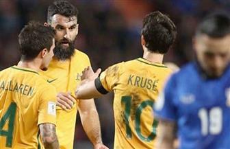 جيدناك يعادل النتيجة لأستراليا في مرمى الدنمارك من ركلة جزاء