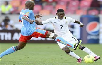 مجموعة مصر.. غانا تتقدم بهدفين على الكونغو في النصف ساعة الأولى