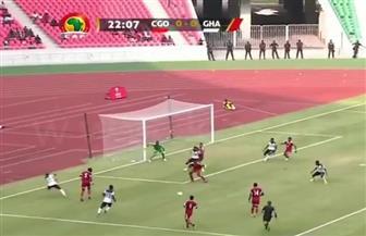 مجموعة مصر.. غانا تتقدم على الكونغو 3-1 في الشوط الأول