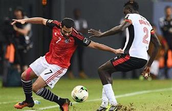 مصر 1 أوغندا 0 بعد مرور 75 دقيقة.. فرصة مؤكدة تريزيجيه وإنذار لأوتشو