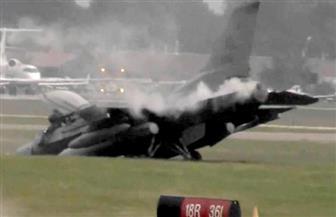 """مصرع طيار عراقي إثر تحطم  طائرته الـ """"F16"""" في أمريكا"""