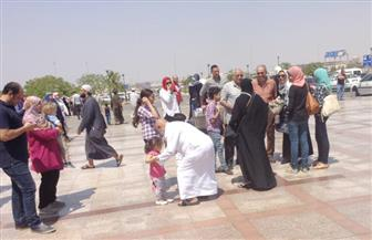 ماذا قال الحجاج عن موسم الحج بعد عودتهم بمطار القاهرة؟ | صور