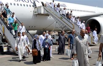 723 حاجًا للجمعيات الأهلية يصلون مطار القاهرة اليوم