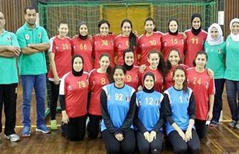 منتخب مصر لكرة اليد  للشابات  يفوز على الجزائر في بطولة إفريقيا