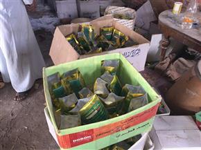 ضبط 4 آلاف عبوة مبيدات وأسمدة مغشوشة بحوزة شخص بالشرقية