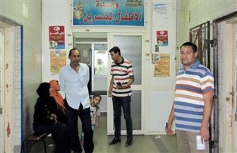 لجنة من رئاسة مركز ومدينة أبوتيج تتابع سير العمل داخل المستشفى المركزي| صور