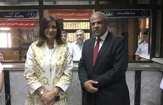 وزيرة الهجرة تفتتح نظام الشباك الواحد بمصلحة الجوازات بمجمع التحرير للمقيمين بالخارج | صور