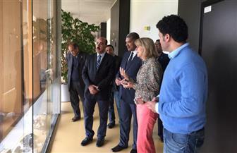 رئيس-جامعة-الفيوم-يبحث-التعاون-العلمي-مع-فرانكفورت-الألمانية- -صور