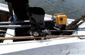 ضبط مخالفات صيد بالنيل والبرلس ورشيد | صور