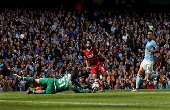 الشوط الأول: مانشستر سيتي يتقدم بثنائية نظيفة على ليفربول بمشاركة صلاح