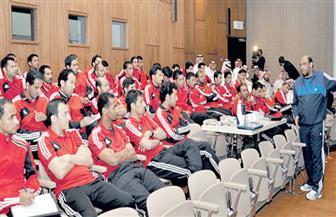 لجنة الحكام تقيم معسكرا لحكام النخبة بالمركز الأوليمبي