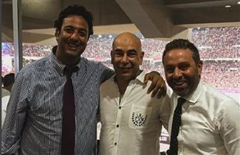 """""""ميدو"""" ينشر صورة تجمعه بحسام حسن وحازم إمام.. وتعليقات: """"يا سلام لو ده جهاز المنتخب"""""""