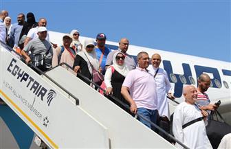 بعثة الحج للقوات المسلحة تعود إلى القاهرة من الأراضي المقدسة