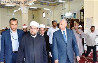 وزير الأوقاف يختتم جولة بمحافظة أسوان بزيارة متحف النيل | صور
