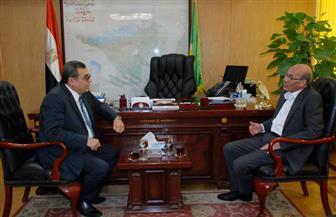 وزيرالزراعة يُحيل مسئولي كوم أوشيم بالفيوم للتحقيق | صور