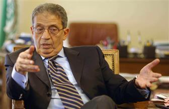 """عمرو موسى: ملتقى التوظيف يمثل المجتمع المدني.. ويجب على الطلاب """"التطوير"""""""