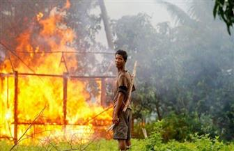 العفو الدولية: قوات الأمن في ميانمار يمكن أن تكون مستمرة فى حرق منازل الروهينجا