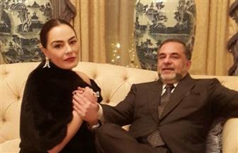 """شريهان لزوجها علاء الخواجة: """"شكرا على وجودك في عمري"""""""