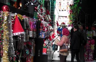 أهالي دمياط يحتفلون باستقبال السنة الميلادية الجديدة
