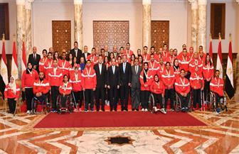 الرئيس السيسي يكرم أبطال مصر في بطولات العالم.. ويوجه بضرورة الاهتمام بالرياضيين