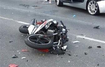 مصرع عامل وإصابة نجله في حادث انقلاب دراجة بخارية في سوهاج