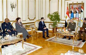 سفارة أمريكا بالقاهرة: تعزيز الشراكة العسكرية مع مصر لمستوى أعلى