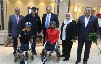 وزير الرياضة يلتقي لاعبي منتخب الإمارات لألعاب القوى لذوي القدرات الخاصة